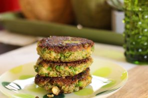 Green Pea Burger